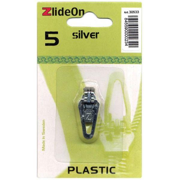 ZlideOn Zipper Pull Replacements Plastic 5
