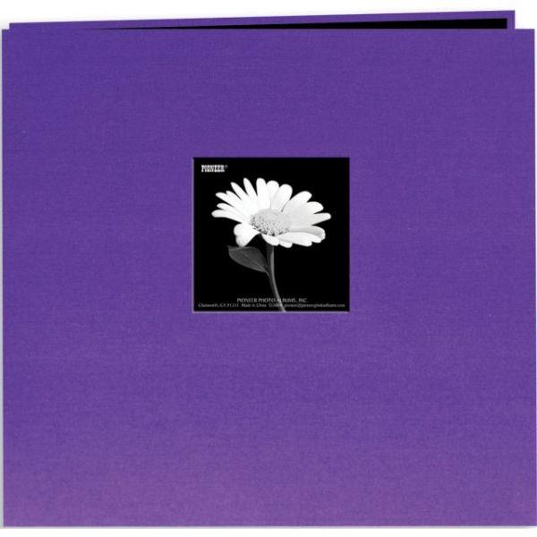 "Book Cloth Cover Post Bound Album 8""X8"""