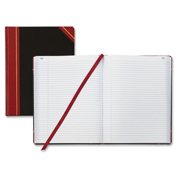 Adams Business Forms Hardcover Record Ledger Book