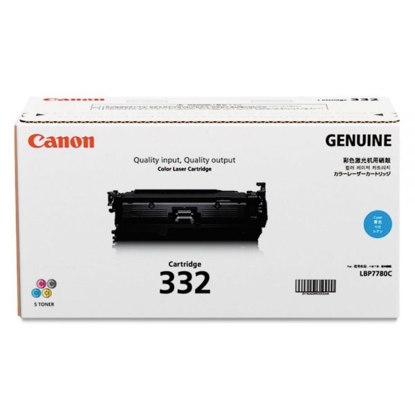 Canon 332 Cyan Toner Cartridge (6262B012)
