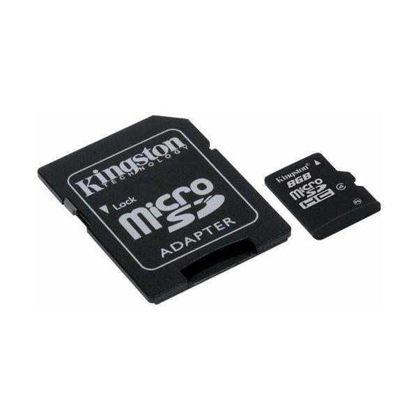 Kingston 8GB microSDHC Card - (Class 4)
