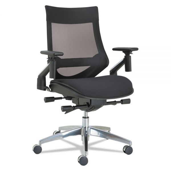 Alera EB-W Series Pivot Arm Multifunction Mesh Chair