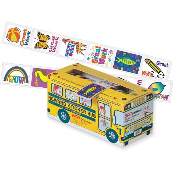 Pacon School Bus & Stickers