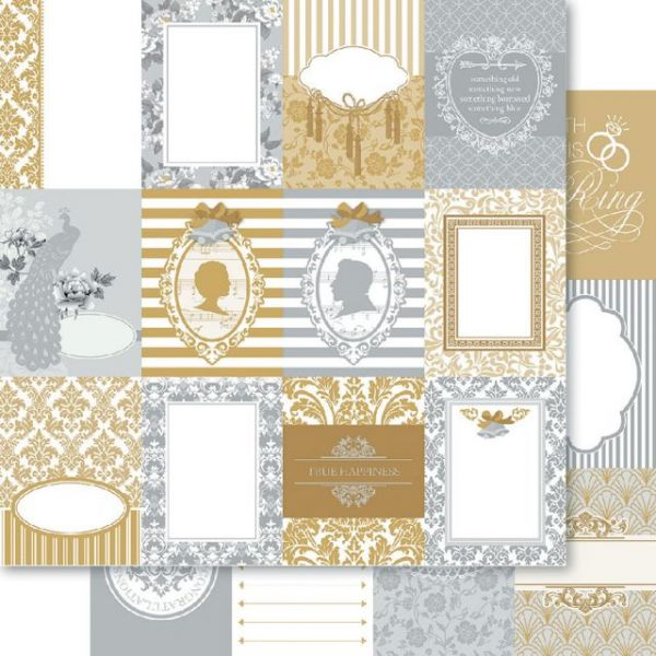 Bella! Betrothed Double-Sided Cardstock