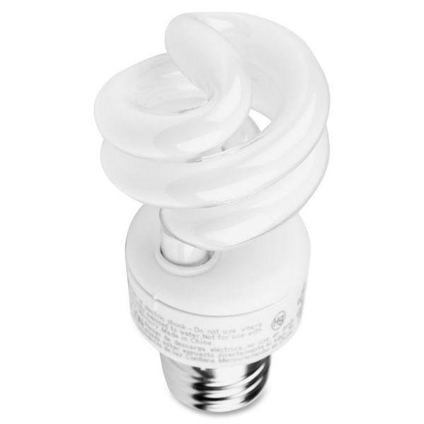 GE 9-watt Spiral CFL Bulb