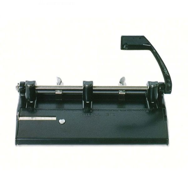 SKILCRAFT Adjustable Heavy-duty 3-Hole Punch