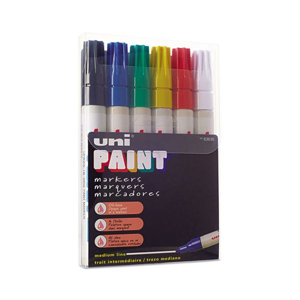 Uni-Ball Acid-Free Oil Base Markers