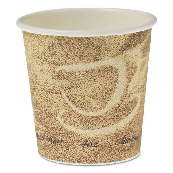 SOLO Cup Company Single Sided Poly Paper 4 oz Coffee Cups