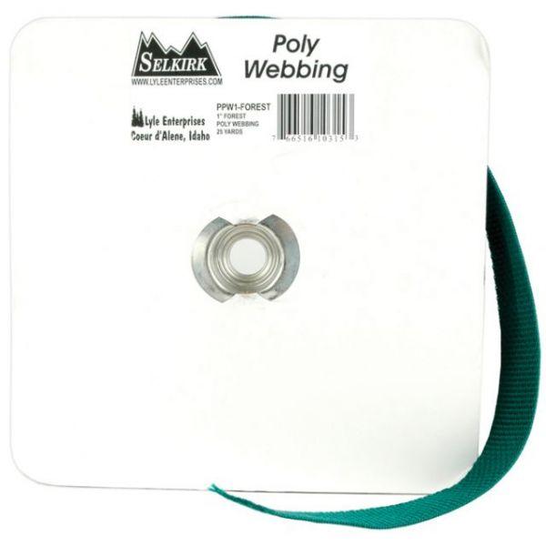 """Polypro Webbing 1""""X25yd"""