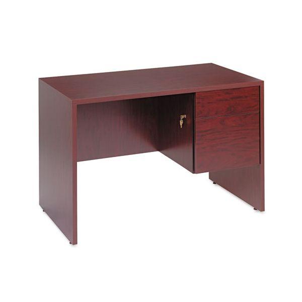 Global Genoa Series Single Right Pedestal Computer Desk