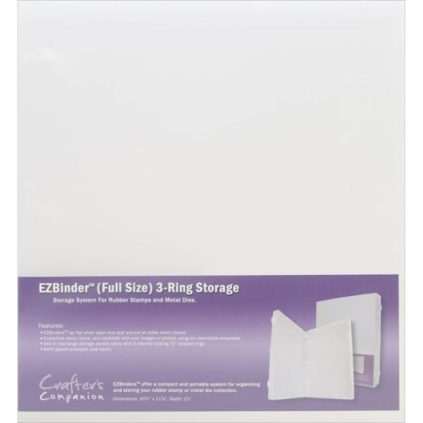 EZBinder Full Size 3-Ring Storage Binder