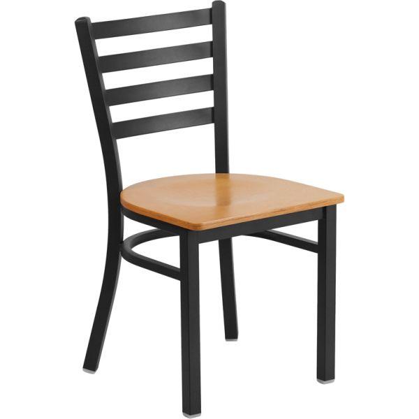 Flash Furniture HERCULES Series Ladder Back Restaurant Chair