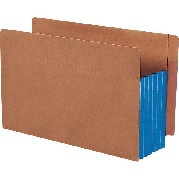 Smead TUFF Tab Expanding End Tab File Pockets