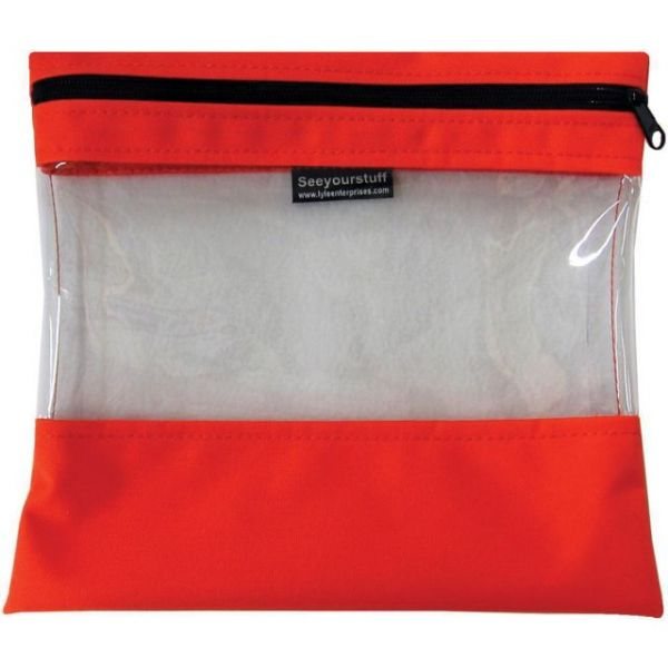 "Seeyourstuff Clear Storage Bag 10""X11"""