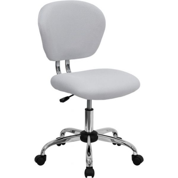 Flash Furniture Mid-Back Mesh Task Chair with Chrome Base