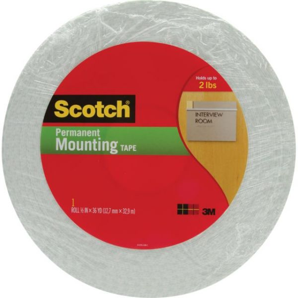 Scotch Double-Sided Foam Mounting Tape