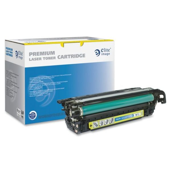 Elite Image Remanufactured HP CE262A Toner Cartridge