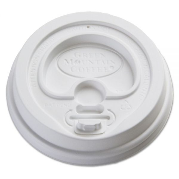 Green Mountain Gourmet Dome Coffee Cup Lids for Eco-Friendly Hot Cups