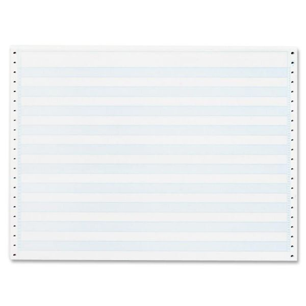Sparco Continuous Blue Bar Computer Paper