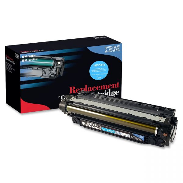 IBM Remanufactured HP CE251A Cyan Toner Cartridge