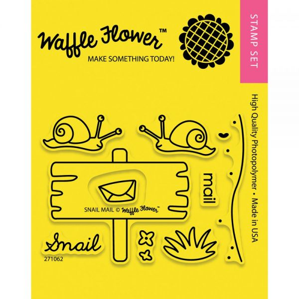 "Waffle Flower Crafts Clear Stamps 3""X4"""