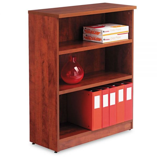 Alera Valencia Series 3-Shelf Laminate Bookcase