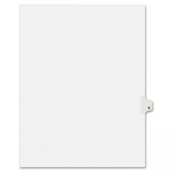 Avery Individually Lettered Legal Index Dividers