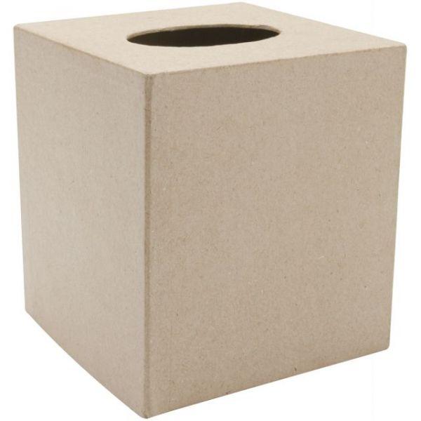 Darice Paper-Mache Tissue Box