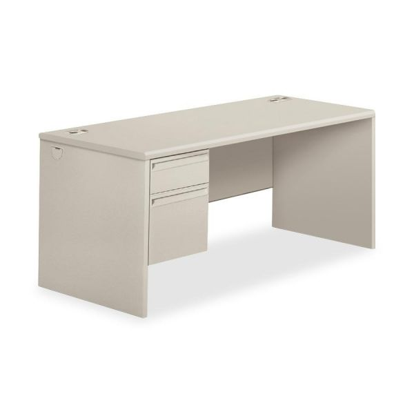 HON 38000 Series Left Pedestal Computer Desk
