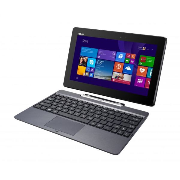 "Asus Transformer Book T100HA-C4-GR 10.1"" (In-plane Switching (IPS) Technology) 2 in 1 Netbook - Intel Atom x5 x5-Z8500 Quad-core (4 Core) 1.44 GHz - Hybrid - Tin Gray"