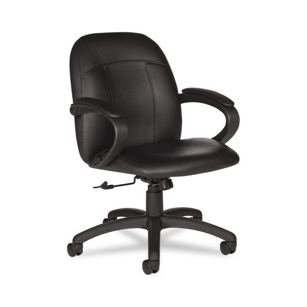 Global Tamiri Series Low Back Leather Office Chair