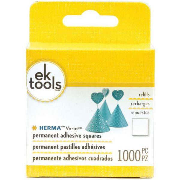 EK Tools Herma Vario Adhesive Squares Refill