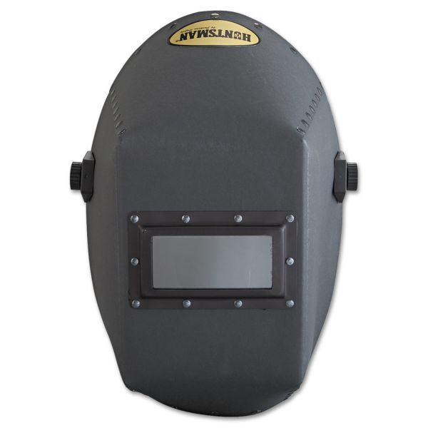 "Jackson Safety* HUNTSMAN Fiber Shell Welding Helmet, 4 1/4"" x 2"", Black"