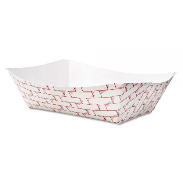 Boardwalk 3 lb Paper Food Baskets