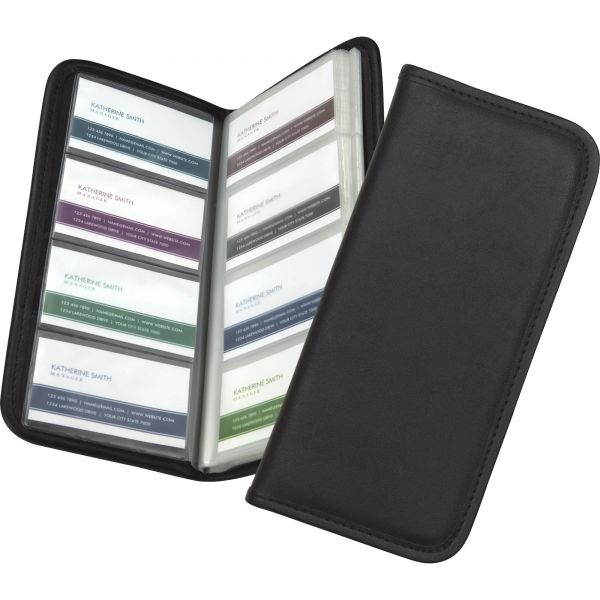Samsill Sterling Professional Business Card Holder