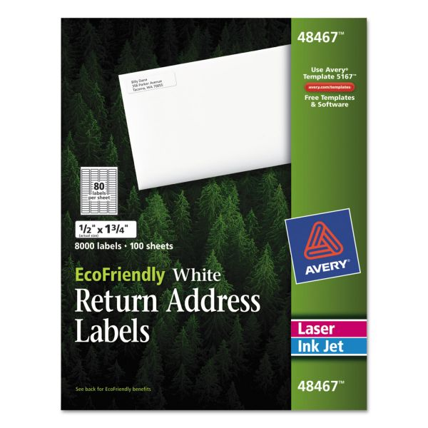 Avery EcoFriendly Return Address Labels