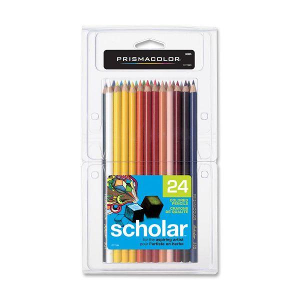 Prismacolor Scholar Woodcase Colored Pencils