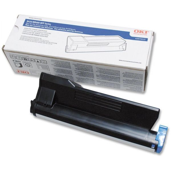 Oki 43979215 Black Toner Cartridge