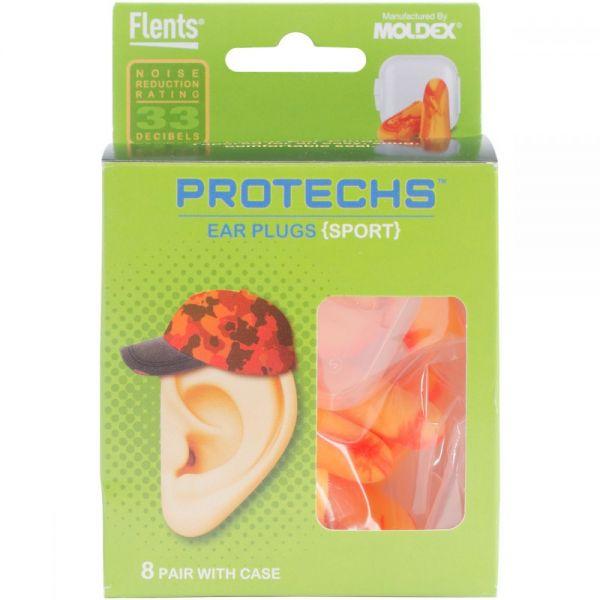 Protechs Sport Earplugs 8 Pairs