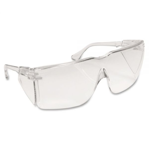 3M Tour Guard V Safety Glasses, Clear Frame/Lens, 20/Box