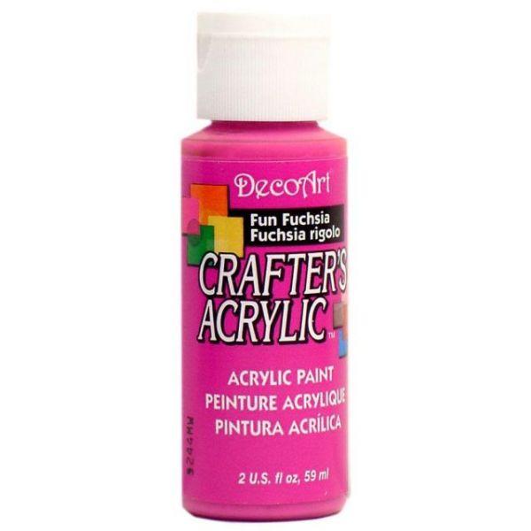 Deco Art Fun Fuchsia Crafter's Acrylic Paint