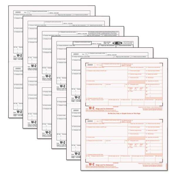 TOPS W-2 Tax Forms