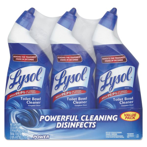 LYSOL Brand Disinfectant Toilet Bowl Cleaner