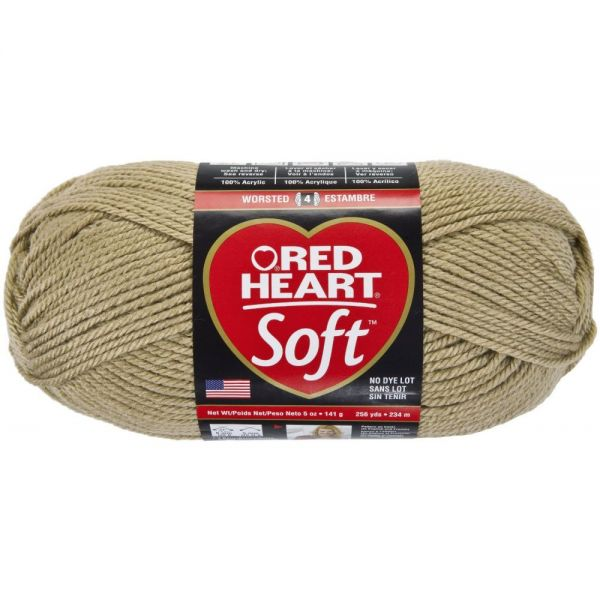 Red Heart Soft Yarn - Wheat