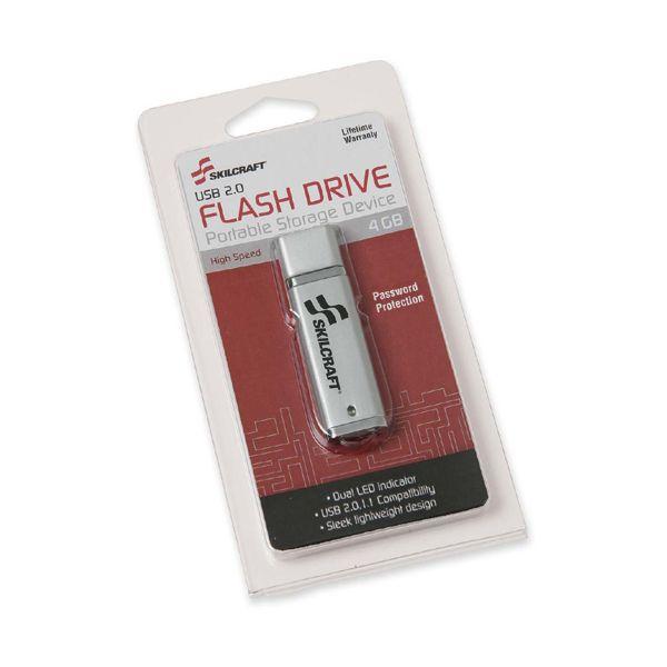 SKILCRAFT 4GB USB 2.0 Flash Drive