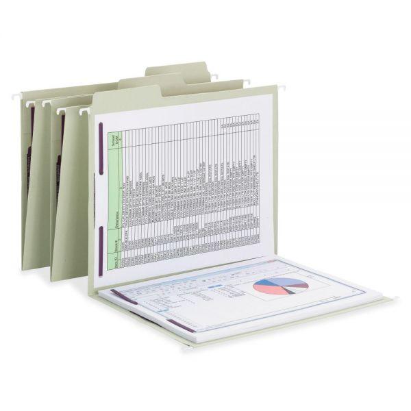 Smead FasTab Hanging Fastener Folder