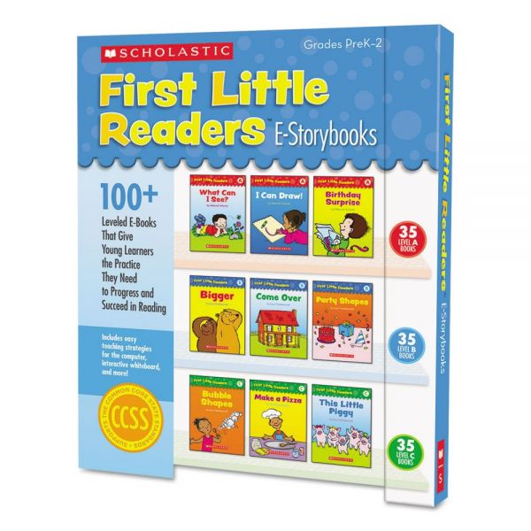 Scholastic First Little Readers Levels A, B, C