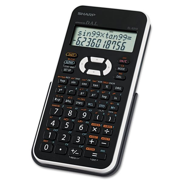 Sharp EL-531XBWH Scientific Calculator