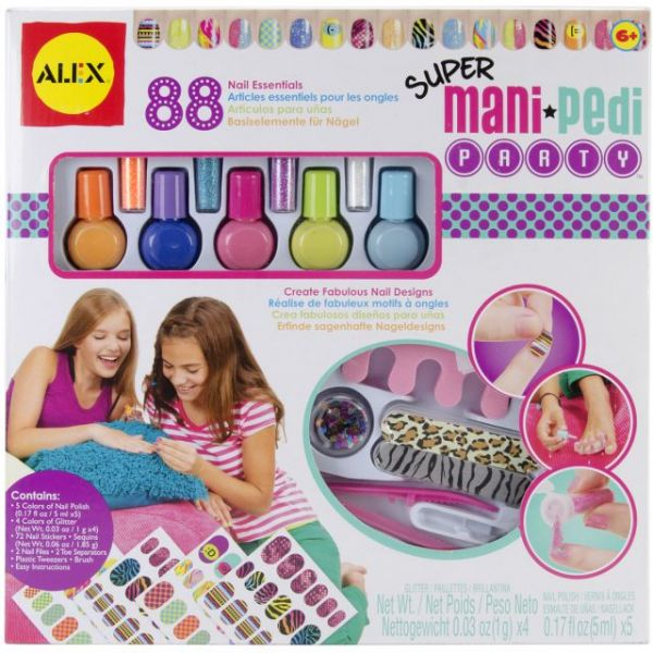 ALEX Toys Spa Super Mani-Pedi Party Kit