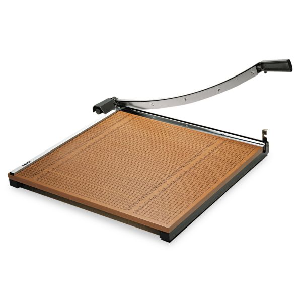"X-ACTO Wood Base Guillotine 24"" Paper Cutter"